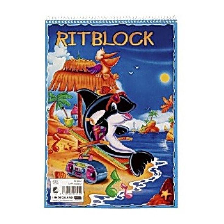 Ritblock A4, 80 ark