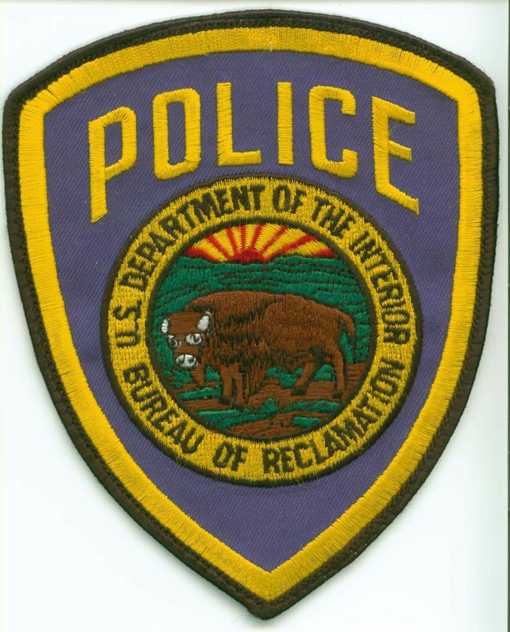 82 best uniform badges emblems and pins images on pinterest police patches police badges and - Us bureau of reclamation ...
