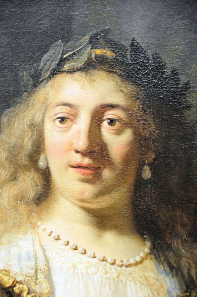 Rembrandt van Rijn - Minerva 1635