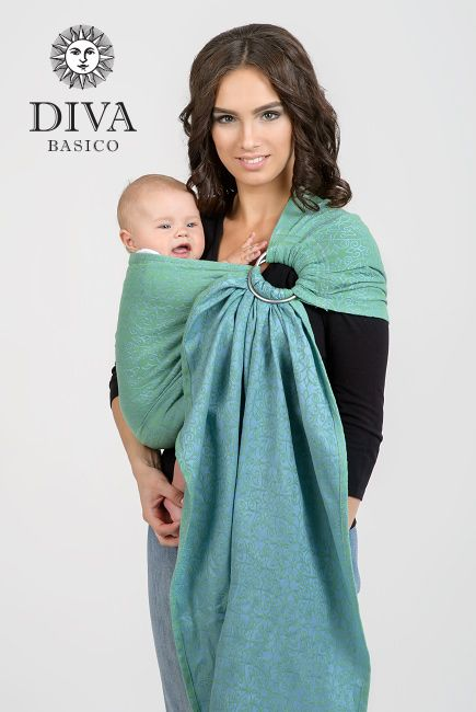 Diva Basico 100% Cotton Ring Sling is a new line of high-quality economy-priced slings designed in Italy. We ship to Canada, to the US and worldwide!