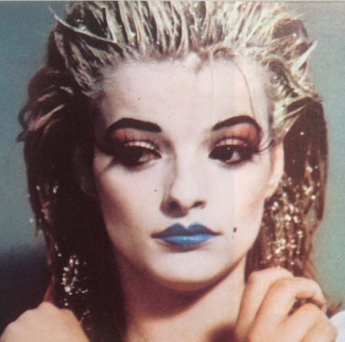 planetninahagen:miragezine:  Taken from the Instagram of Yoon Ambush | Nina Hagen  Circa 1980