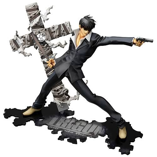 Trigun Badlands Rumble Nicholas Wolfwood ArtFXJ Statue - Kotobukiya - Trigun - Statues at Entertainment Earth