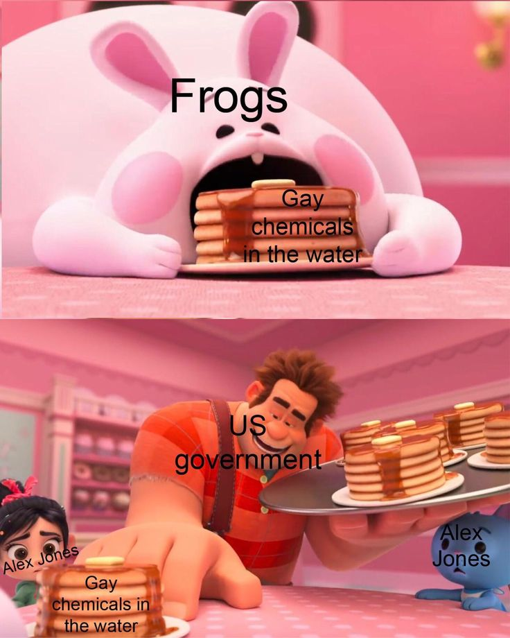 Alex Jones is the only human strong enough to save the frogs