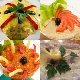 Meniu Salata de Boeuf, Salata de Vinete, Zacusca de Casa, Icre