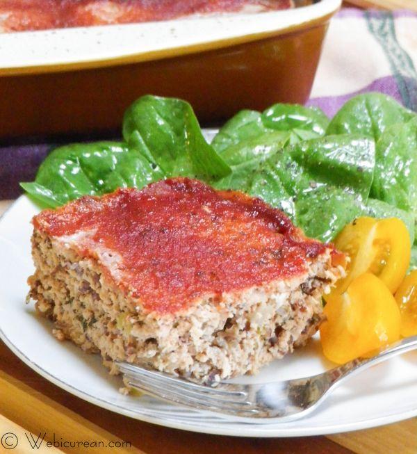 Heart Healthy Turkey Meatloaf