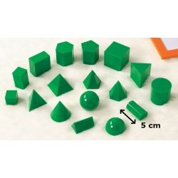 Geometric Solids 5cm