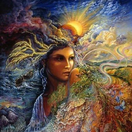 43 Best Gaia Images On Pinterest Tarot Woman And Altars