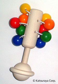 ネフ社ドリオ 木のおもちゃ 赤ちゃんおしゃぶり