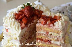 La Torta alle Fragole in 15 minuti e' un dolce spettacolare che possono preparare anche i meno esperti in decorazioni! Stupirete davvero tutti!