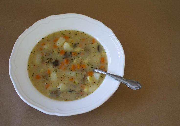Very Good Cook   Bramboračka: Czech Potato Soup