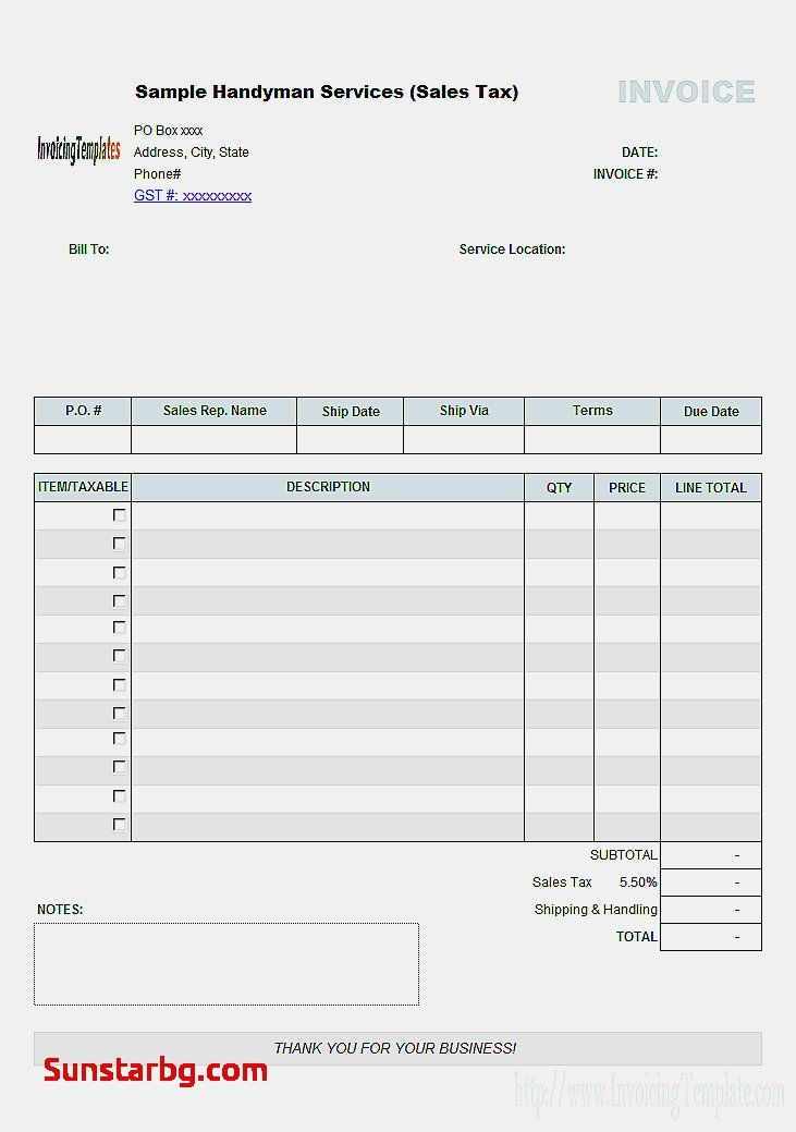 new invoice template for invoice and estimate software Food - what is invoice po number