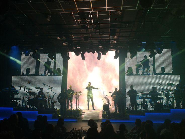 Κwnstantinos Argiros on stage