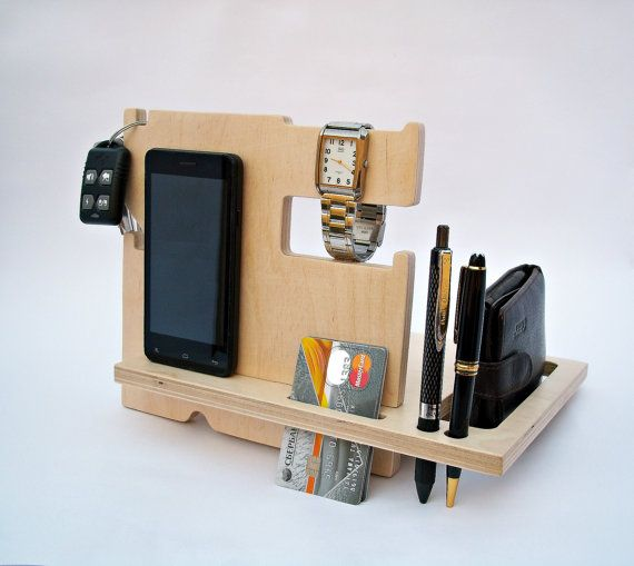 Wood docking station  iPhone Stands & by WoodenGiftsCreations