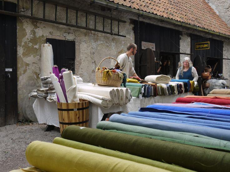 Visby Kapitelhusgården/ photo by Merry Folk Medeltidsveckan http://www.medeltidsveckan.se/