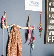 #Drijfhout #sieraden of sjaals #hanger #DIY #Doehetzelf