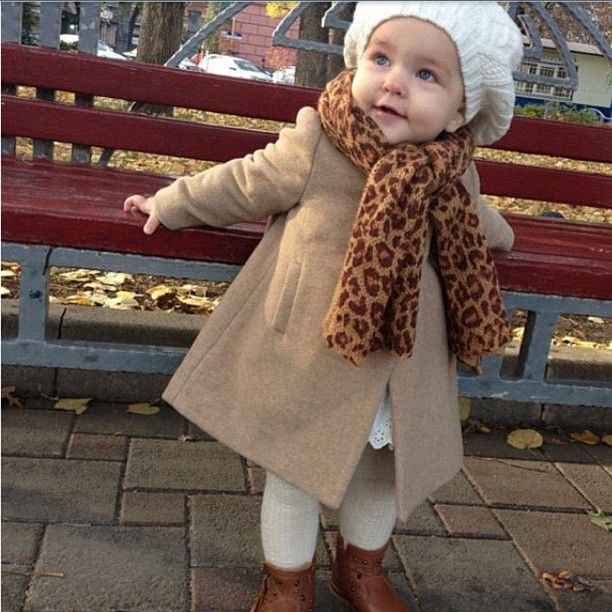 Kids Fashion Style Baby Winter Clothes Attire