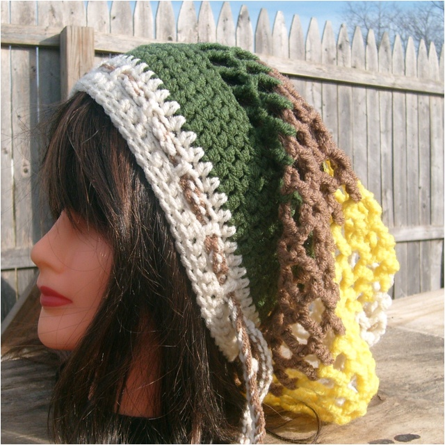 34 best Rasta hats patterns images on Pinterest Crochet hats, Knit crochet ...