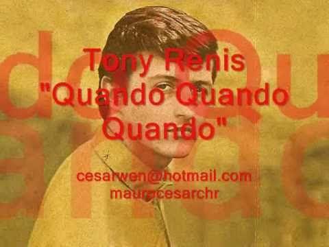 Quando quando quando TONY RENIS Lyric (Learn italian singing) - YouTube