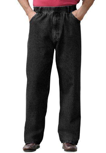 Comfort Waist Baggy Fit Jeans, Black Denim Big-2Xl38 KingSize http://www.amazon.com/dp/B005GQE4IC/ref=cm_sw_r_pi_dp_oFI6ub0K84DYK