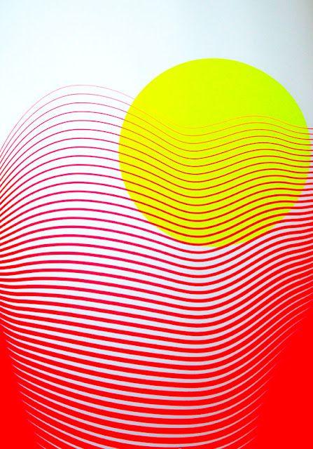 Redyellow: Abstract, Colour, Art Inspiration, Graphicdesign, Illustration Inspiration, Silkscreen Poster, Art Illustration
