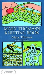 Mary Thomas's Knitting Book, #TKGAmasterKnitting, techniques, design