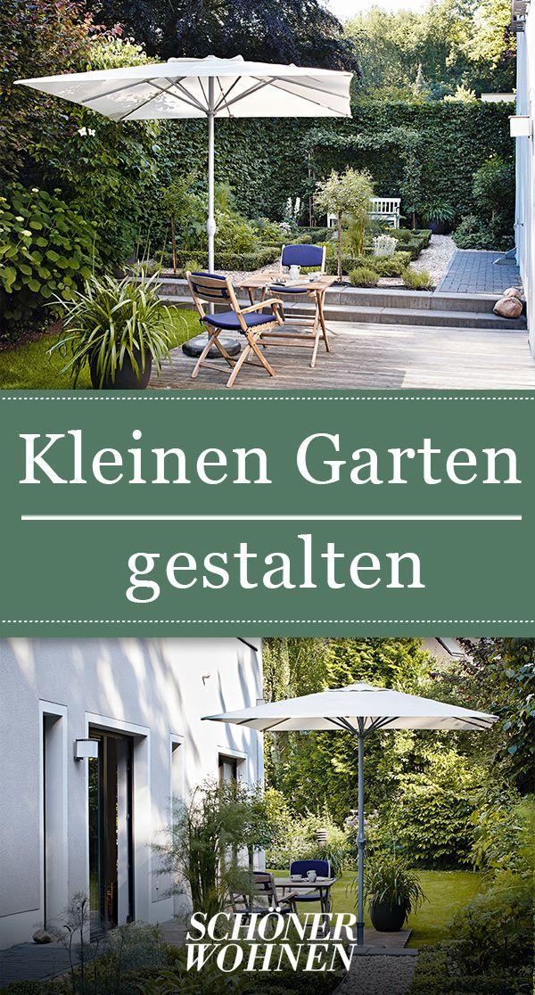 Kleine Gärten gestalten – Gartenplanung auf wenig Raum