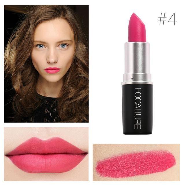 18 Colors Matte Lipstick Set Professional Makeup Waterproof Baby Lip Balm Nude Lipgloss Lip Stick Cosmetic