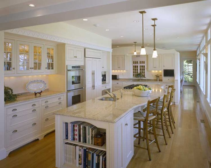 Cottage style homes century cottage renovated in for Kitchen designs american style
