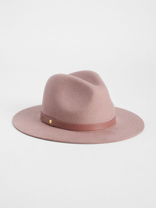 8ac8de549d4 Gap Womens Wool Fedora Soft Pink   Products in 2019   Fedora hat ...