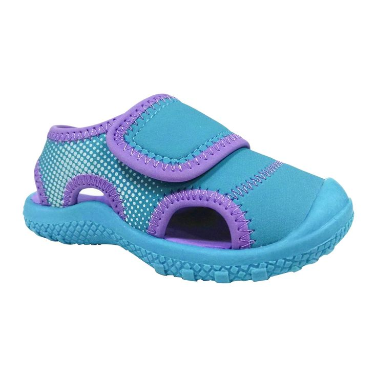 Toddler Girls' Water Shoes - Cat & Jack - Turquoise XL (11-12), Size: XL 11-12, Blue