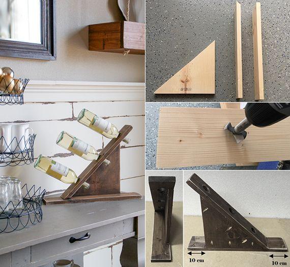 17+ best ideas about weinregal selber bauen on pinterest   selber ... - Weinregal Design Idee Wohnung Modern Bilder