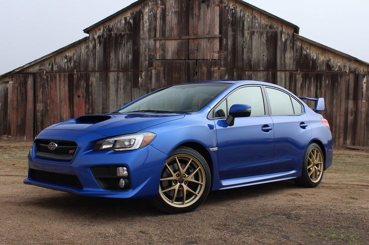 2015 Subaru WRX STI: First Drive