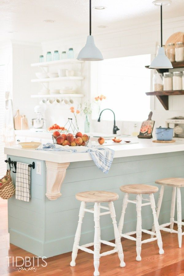 fall home tour - Colorful Kitchens