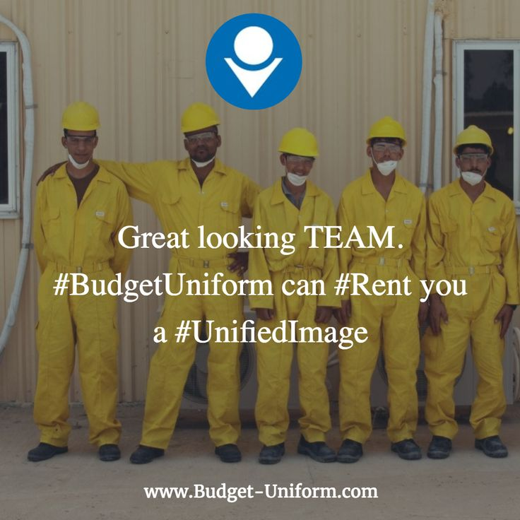 Great looking TEAM. #BudgetUniform can #Rent you a #UnifiedImage
