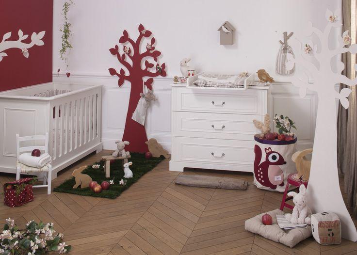 La chambre Ines blanche #natalyschambre #chambre #bebe