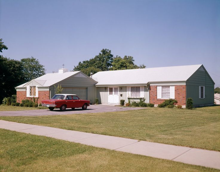 455 best mid century houses images on pinterest mid for Ranch home builders ohio