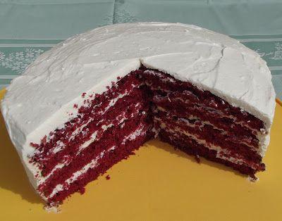 """Tortaimádó: """"Red Velvet"""" – Vörös bársony torta"""
