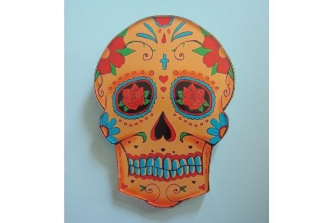 Rose Skull Badge / Brooch by Sanna se winkel
