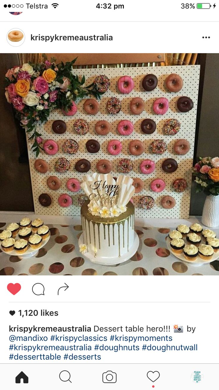 essential sweets donut table party kmart board