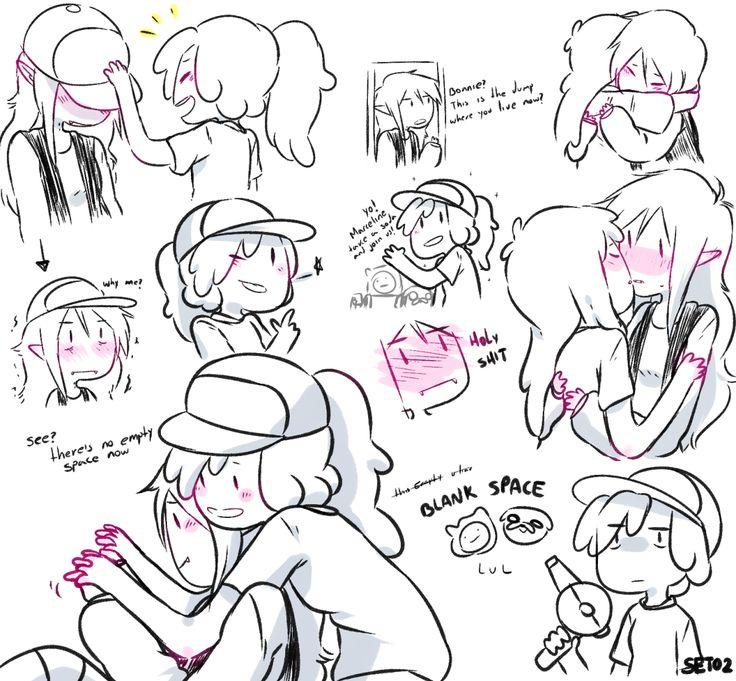 Bubbline • Sugerless Gum • Marceline x Princess Bubblegum • Adventure Time • Varmints