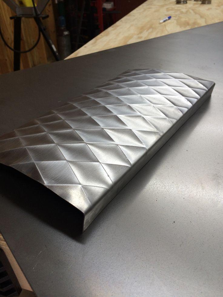 Bead roller metal art
