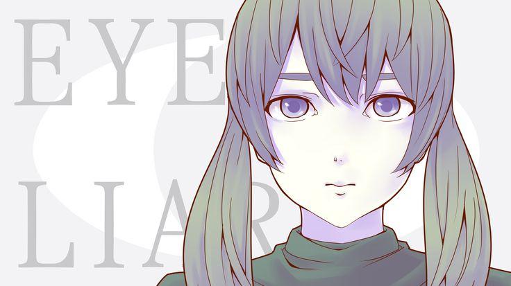 【初音ミク】 アイライアー 【オリジナル曲】 _ Eye Liar