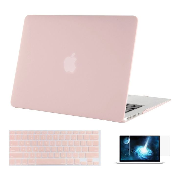 Mosiso Replace Shell Cover for Macbook Air 13 13.3  2015 2016 2014 + Silicone Keyboard Skin Cover + Screen film Protector  #Affiliate