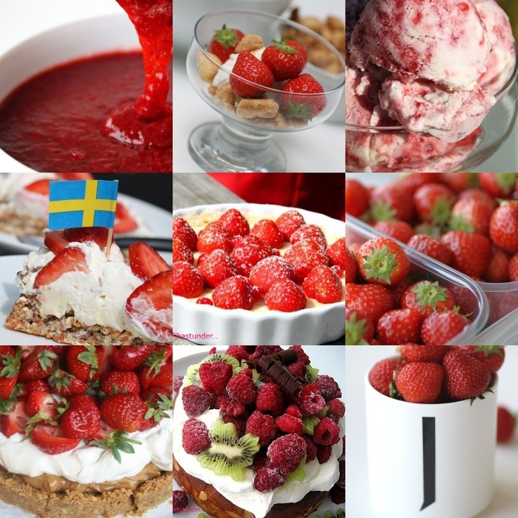 Swedish midsummers: strawberries