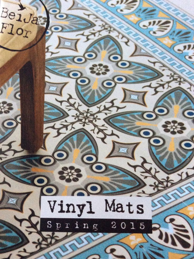 56 best images about beija flor vinyl mats they are for Carreaux de ciment