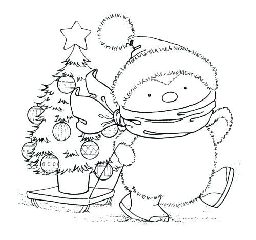 Penguin Coloring Pages Page Printable Free Christmas Sheets Ring R Emperor Club Christmas Coloring Pages Coloring Pages Digital Stamps