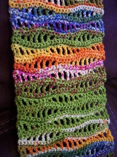 17 Best ideas about Crochet Wave Pattern on Pinterest Crochet stitches char...