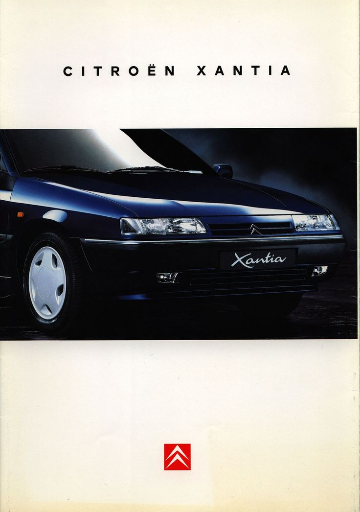 https://flic.kr/p/EboeMb | Citroen Xantia; 1995_1 | front cover car brochure by worldtravellib World Travel library
