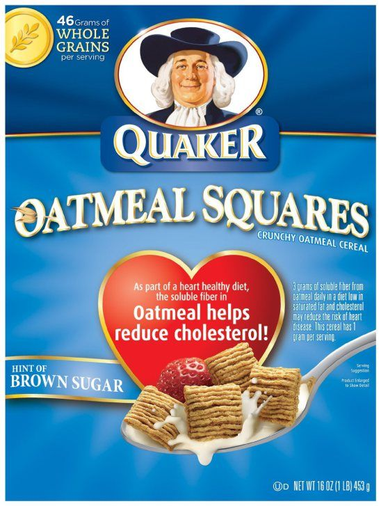 Quaker Cereal Only $0.79 At Kroger!