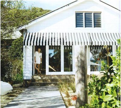 Black and white awning pictures. driftwood interiors: Stripe me lucky